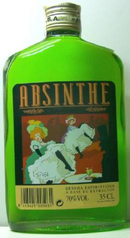 ABSINTHE Green 35 cl. 70º