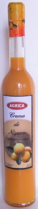 Cream of loquat 50 cl.elongated bottle