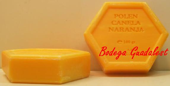 Soap beekeeper: Polen, cinnamon and orange