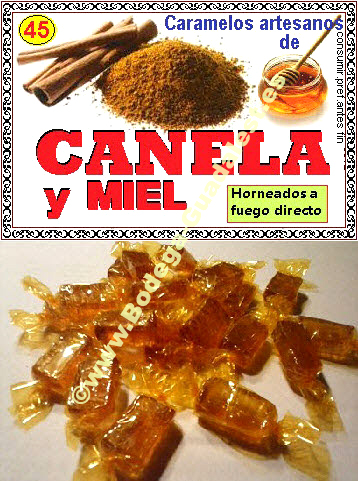Honey and Cinnamon candies