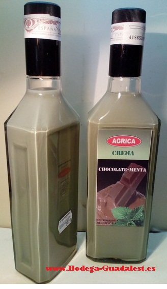 Crema de Chocolate y Menta 50 cl.