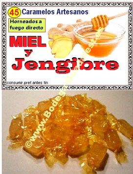 Honey and Ginger candies