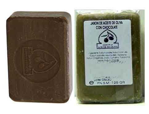 OLIVE OIL AND CHOCOLATE Soap