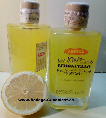 Limoncello «Agrica» 20 cl.