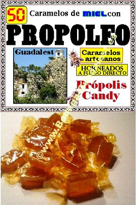 Honey candies with <b>Propolis</b>