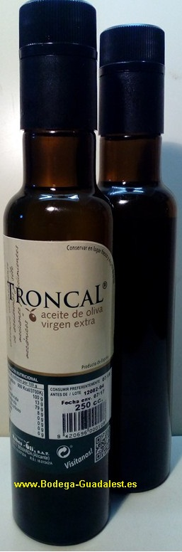 <b>Extra Virgin</b> Olive Oil TRONCAL 250 cl