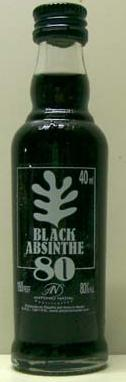 Black Absinthe. 40ML