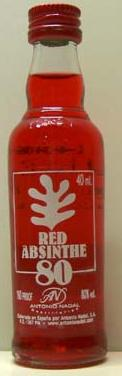 Red Absinthe 40ML