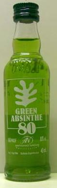Absinthe green. 40ML
