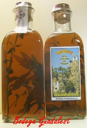 Herbal Liqueur Guadalest 500 ml.