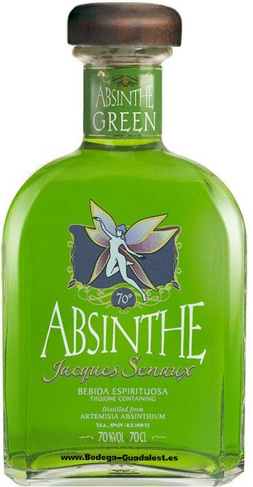Absenta Green Jacques Senaux 70 cl.